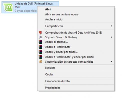 Imagen - Cómo montar una imagen ISO en Windows 8