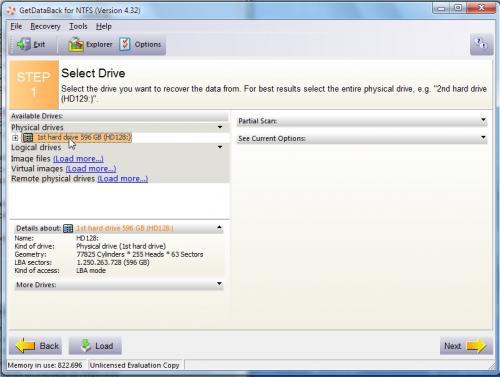 Imagen - Cómo recuperar archivos con GetDataBack