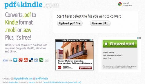Imagen - Cómo convertir de PDF a formato MOBI
