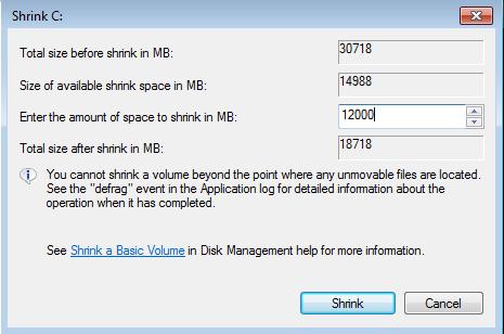 Imagen - Cómo crear y ocultar particiones en Windows 7.