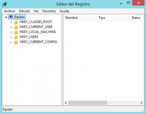 Imagen - Cómo crear una copia del registro en Windows 8