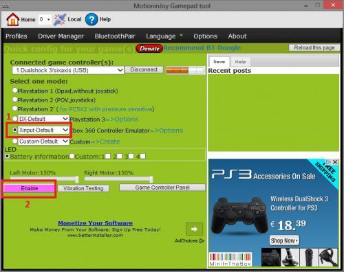 Imagen - Cómo conectar el mando de PS3 al PC