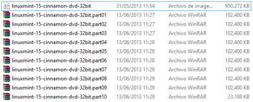 Imagen - Comprimir un archivo en varias partes con WinRar