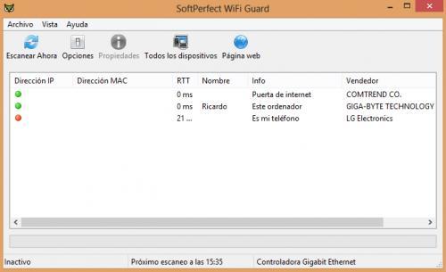 Imagen - Comprobar quién accede a nuestra red WiFi con WiFi Guard