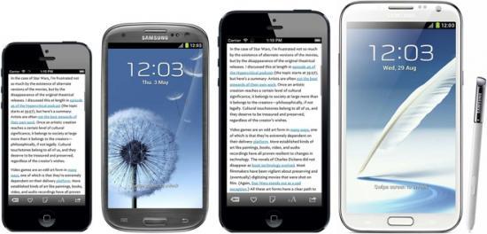 """Imagen - Apple lanzará este año un iPhone de 4,7"""" y un iPhone de 5,6"""""""