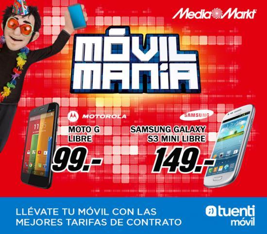 Imagen - Motorola Moto G y Samsung Galaxy S3 Mini por 99 y 149 euros respectivamente