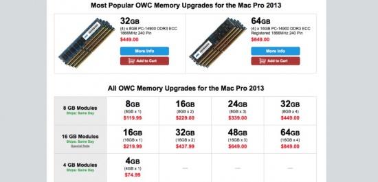 Imagen - 128Gb de memoria RAM para el Mac Pro costarán más de 2000 dólares