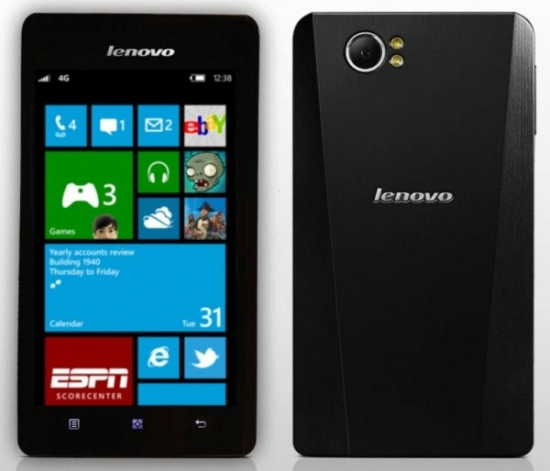 Imagen - Lenovo también lanzará un smartphone con Windows Phone