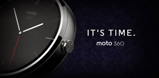 Imagen - Moto 360, el smartwatch de Motorola ya es oficial