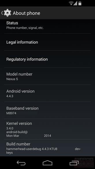 Imagen - Conoce las primeras novedades del próximo Android 4.4.3