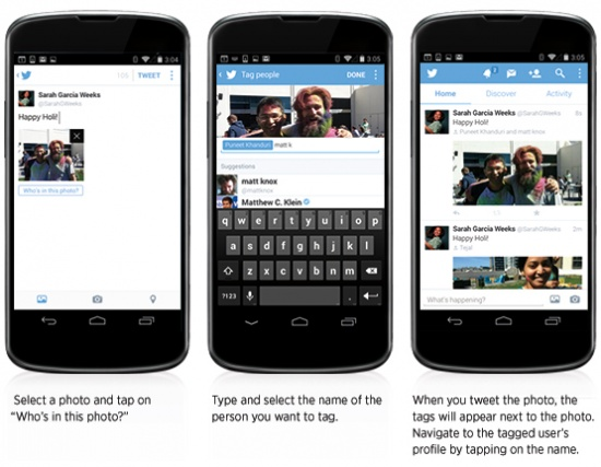 Imagen - Twitter ahora permite etiquetas en fotos y cambia el botón retweet por compartir