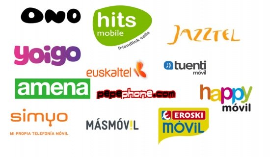 Imagen - Cobertura de los operadores de móviles virtuales