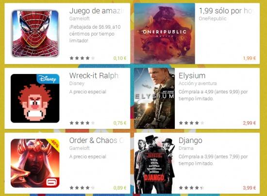 Imagen - Google Play celebra su segundo aniversario con descuentos