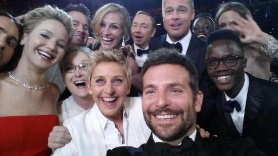 Imagen - El selfie en los Oscar es el tweet con más retweets de la historia