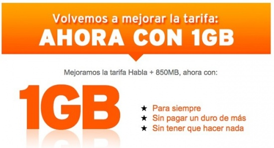 Imagen - Simyo ofrece 1Gb a cambio de 8.46 euros de consumo mínimo