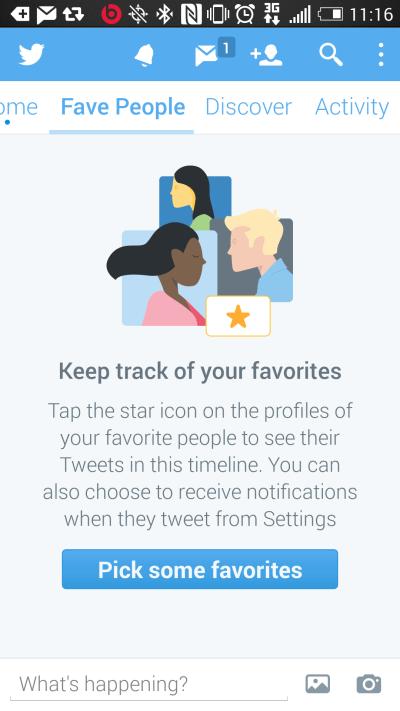 Imagen - Twitter permitirá leer aparte solo los tweets de tus usuarios favoritos