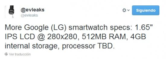 Imagen - Filtradas las características del Google Watch