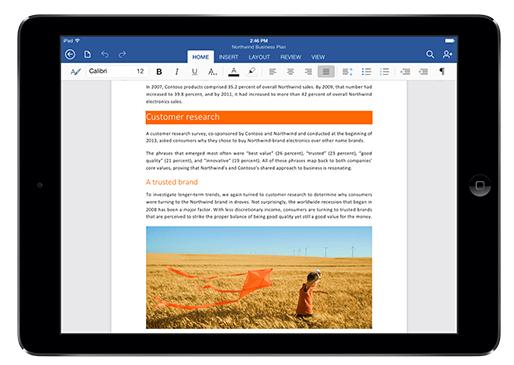 Imagen - Office para iPad ya disponible para descargar