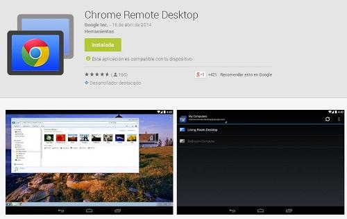 Imagen - Chrome Remote Desktop disponible para descargar