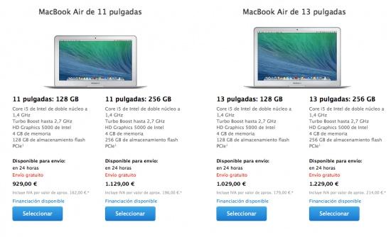 Imagen - Apple lanza el nuevo MacBook Air con más potencia y a menor precio
