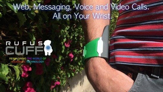 Imagen - Del smartwatch al teléfono en la muñeca: Rufus Cuff