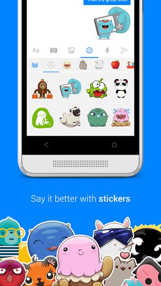 Imagen - Facebook Messenger se actualiza con selfies y más stickers