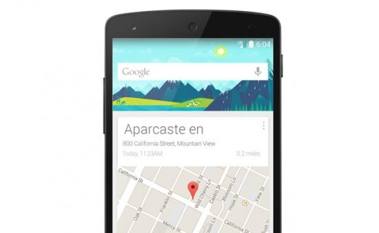 Imagen - Google Now te recordará dónde has aparcado el coche