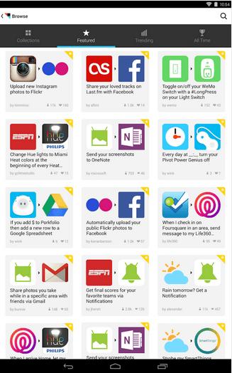 Imagen - IFTTT llega a Android: conoce qué nos permite hacer esta práctica app