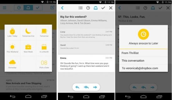 Imagen - Mailbox, el cliente de Dropbox para iOS, llega a Android