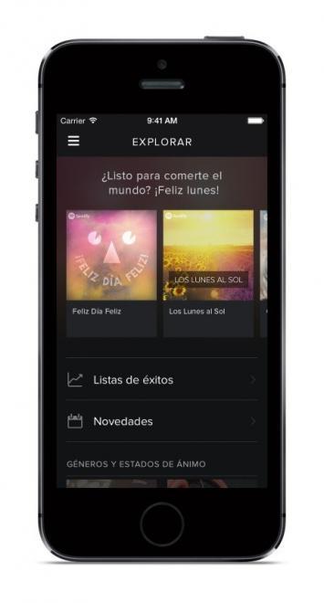 Imagen - Spotify se rediseña completamente