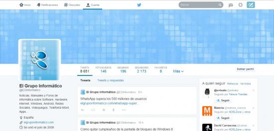 Imagen - Twitter ya permite activar el nuevo diseño a todos