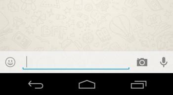 Imagen - WhatsApp añadirá un botón para enviar fotos directamente