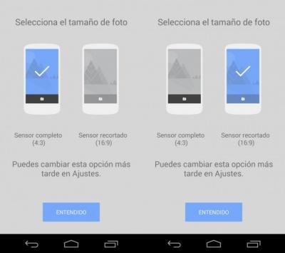 Imagen - Google Cámara se actualiza con resolución panorámica y temporizador