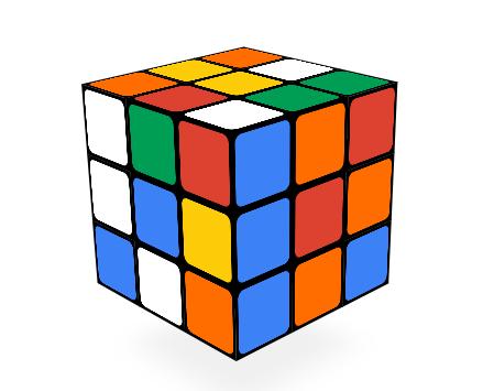 Imagen - El Doodle de Google celebra 40 años del cubo de Rubik