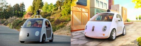 Imagen - Google prepara su coche sin conductor, volante ni pedales