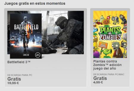 Imagen - Descarga Battlefield 3 y Plantas contra Zombis para ordenador gratis