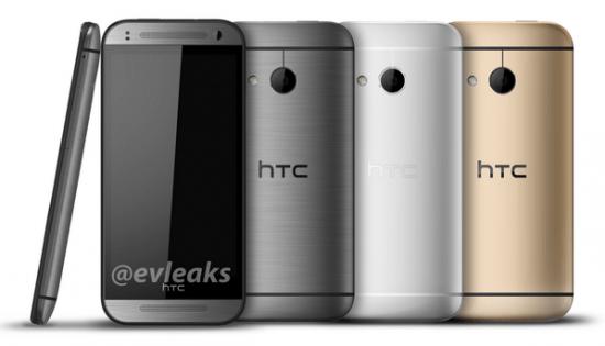 Imagen - HTC One Mini 2 llegará este mes en gris, plata y oro