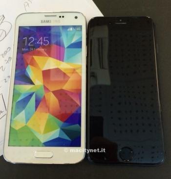 Imagen - Nueva maqueta del iPhone 6 lo compara con el Galaxy S5