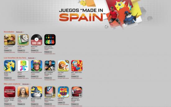"""Imagen - App Store estrena la sección Juegos """"Made in Spain"""""""