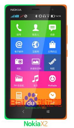 Imagen - Nokia X2, el primer smartphone de Microsoft con Android y Windows Phone