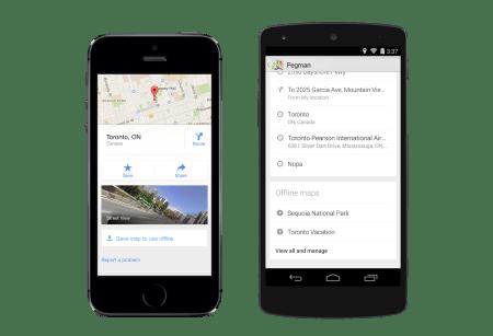 Imagen - Google Maps se actualiza con mejoras en el offline y se integra con Uber