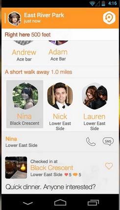 Imagen - Swarm, la nueva app de Foursquare que recuerda a Tinder