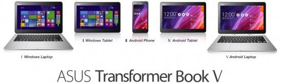 Imagen - ASUS Transformer Book V, los nuevos tres en uno de ASUS
