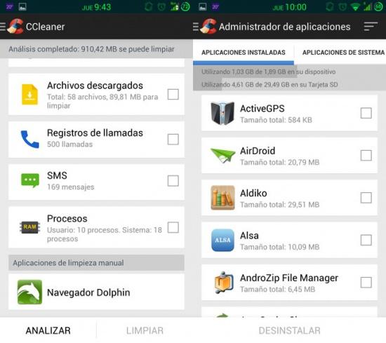 Imagen - El optimizador CCleaner llega por fin a Android