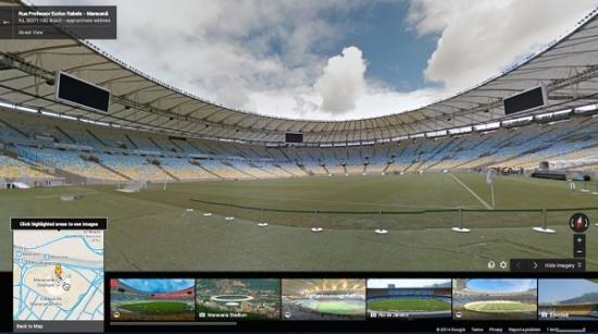 Imagen - Google Street View se cuela en los 12 estadios del Mundial de Brasil