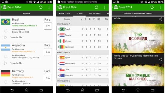 Imagen - Las 5 mejores apps para seguir el Mundial de Brasil