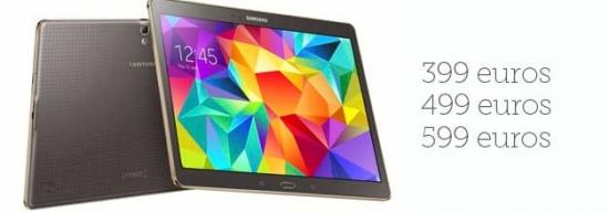 Imagen - Samsung confirma el precio y la fecha de lanzamiento del Samsung Galaxy Tab S