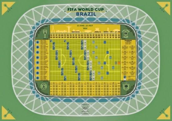 Imagen - El Mundial de Brasil 2014 en Google Calendar
