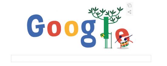 Imagen - Google repite Doodle del Mundial de Brasil en su segunda jornada