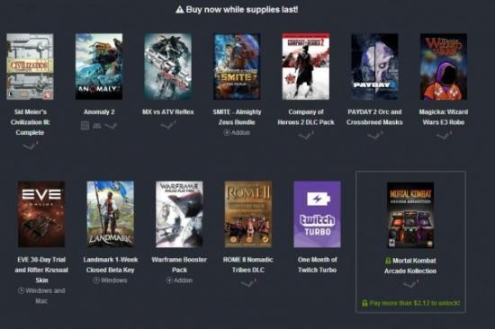 Imagen - 4 juegos, 6 DLC, un acceso Beta y un mes de Twitch Turbo por menos de un euro